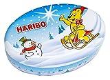 HARIBO Winterdose leer - hat Platz für 2 HARIBO-Beutel (bis 200 g)