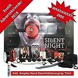AMOR Silent Night Erotischer Fetisch Adventskalender 2019 - Für Paare, 24 aufregend sinnliche Sex Geschenke, Erotik Advent Kalender im Wert von 400 € im großen Kastenformat- 68 x 44 x 5cm
