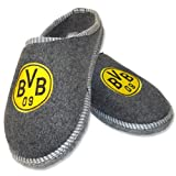 BVB-Filzpantoffel, 42-43,anthrazit