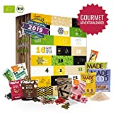 Gourmet Adventskalender I Weihnachtskalender mit 24 exclusiven Feinkostartikel I Ausgefallener köstliches Geschenkset für Erwachsene