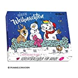 Pummeleinhorn BUBECK Hunde-Adventskalender