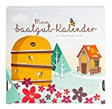 Saatgut Adventskalender 'Bienen-Freund' - 24 Schachteln/Schubladen mit Samen