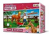Craze Pflege Tina & Amadeus Bibi BIBI & Tina Spielfiguren Set Pferde Pflegeset Tina und Amadeus inkl. Zubehör 14134
