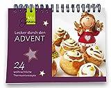 Lecker durch den Advent - Der kleine Adventskalender: Tischkalender mit 24 weihnachtlichen Thermomixrezepten