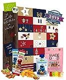 Kinder Adventskalender gesund I gesunde Snacks Kinder I 24 Überraschungen im Kinder Kalender I gesunde Süßigkeiten Kindergarten
