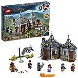 LEGO 75947 Harry Potter  Hagrid's Hut: Buckbeak's Rescue Playset with Hippogriff Figure, Harry Potter Gift Ideas