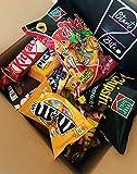 Snack Box mit Markenwarke - Schokoriegeln, Chips, Gummibärchen und Knabbereien (20-teilig) (20)