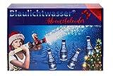 Blaulichtwasser - Blaulichtwasser Adventskalender - Motiv: 'Schneegestöber' - Likör 16% vol.