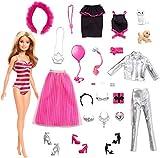 Barbie GFF61 - Adventskalender 2019 mit Puppe und Zubehör, Puppen Spielzeug und Adventskalender Mädchen ab 3 Jahren