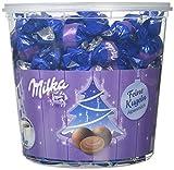 Milka Feine Kugeln Alpenmilch – Zartschmelzende Schokolade mit Alpenmilch Füllung in der Milka Großpackung – 900g
