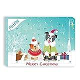 Hunde Adventskalender 2018 von PetPäl | DIE leckersten Snacks & Leckerli für deinen Hund zu Weihnachten | Gesunde Leckerlie zum Advent - Getreidefrei, Glutenfrei, Ohne Zucker, Ohne Künstliche Farb- & Aromastoffe | Hart Gebacken - Optimal für die Zahnpflege