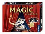 KOSMOS 698867 - MAGIC Zauber Adventskalender, Spannende Zaubertricks und Zauber-Utensilien für die Adventszeit, Spielzeug Adventskalender zum Zaubern für Mädchen und Jungen ab 8 Jahren