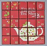 English Tea Shop - Tee Adventskalender'Pink Christmas', 24 einzelne Boxen mit würzigen BIO-Tees in hochwertigen Pyramiden-Teebeutel