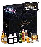 Whiskey Adventsgeschenk I 24 Überraschungen mit Best Whiskey I Alkoholkalender für Erwachsenene I Premium Whiskey zum testen