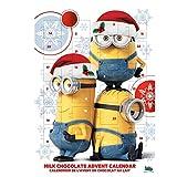Minions Adventskalender mit Milchschokolade Motiv 2016