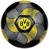 BVB-Ball mit Carbonmuster (Größe 5) one size