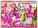 Barbie Advent Calendar with Barbie Accessories 24 Surprise Items incl Shoes Boots Purses Jewellery
