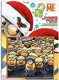 Minions Adventskalender 2017 (mit 3D Puzzle als Spiel - Milchschokolade 80g)