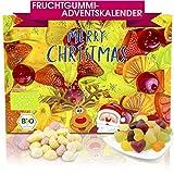 C&T Bio Fruchtgummi-Adventskalender mit Gummibärchen, Weingummi, Jogurtgums, Colafläschen   Weihnachtskalender zum Naschen in der Adventszeit