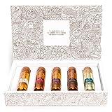 Tastillery Whisky Tasting Probierset'Whisky Weltreise' in Geschenkbox (5 x 50ml) - bekannt aus'Die Höhle der Löwen' | Probier Set | Whiskey Set | Whisky Set |