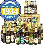 Original seit 1934 + Biersorten aus D und Welt + Bier Adventskalender