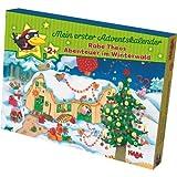Haba 7459 Mein erster Adventskalender - Rabe Theos Abenteuer im Winterwald