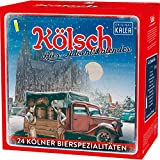 Kalea Kölsch Bier-Adventskalender mit 24 Kölschbieren und 1 exklusivem Verkostungsglas Bierpaket (24 x 0.33 l)