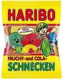 Haribo Frucht-und Colaschnecken, 6er Pack (6 x 175 g)