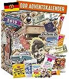 DDR ADVENTSKALENDER I Geschenkset ehemalige Ostprodukte I Adventskalender mit Lebensmittel aus der DDR I DDR Ostalgie I Geschenkideen DDR I Geschenkbox Ostalgie für Männer Frauen
