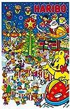 Haribo Adventskalender, 1er Pack (1 x 300 g)