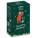 3Bears Porridge Adventskalender für eine leckere & gesunde Weihnachtszeit | gefüllt mit 24 Portionen kerniger Porridge-Mischung in 7 bär-tastischen Sorten | plus exklusive 3Bears Überraschung