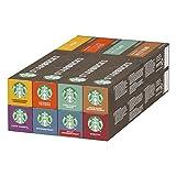 STARBUCKS by NESPRESSO Kaffeekapseln Probierset (8 Varianten), 80 Kapseln (8 x 10)