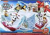 PAW Patrol 6052489 - Adventskalender mit Sammelfiguren und Winterlandschaft