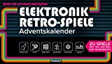 FRANZIS Elektronik Retro Spiele Adventskalender 2020 | 24 Spiele der 70er und 80er zum Selberbauen ohne Löten | Jeden Tag ein neuer Bastelspaß | Ab 14 Jahren