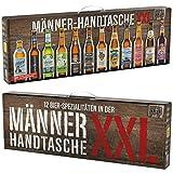 Beer Tasting Box   Geschenk-Idee   Papa   Männer   Bier-Spezialitäten von Privatbrauereien   mit Henkel   Geburtstag (Männerhandtasche XXL 12x0,33l)