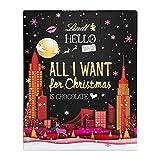Lindt Hello Adventskalender (24 verschiedene Überraschungen aus Milchschokolade) 230g