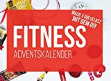 EiweissKönig.de DIY Sport & Fitness Adventskalender 2019 - Inhalt zum befüllen für Fitness Kalender mit Proteinriegeln, Proben, BCAA, Whey 24x Ideen für Männer und Frauen als Geschenk