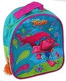 Dreamworks Trolls Poppy Rucksack mit Schlüsselanhänger Kindergarten Tasche blau/grün