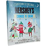 New for 2019 Hershey's Advent Calendar Cookies 'n' Creme Christmas Xmas Gift…