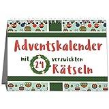 Sophies Kartenwelt Adventskalender mit 24 kniffligen Rätseln - Rätsel Adventskalender für Singles, Paare und Familien - Perfekt zum Verschenken