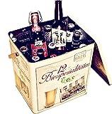 Kalea Beer Box   Metallbox mit 3D-Prägung   Bierspezialitäten   Perfekte Geschenkidee für Männer, Väter und alle Bierliebhaber (Spezialitäten Bier Box)