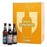 Foodist Premium Craft Beer Adventskalender 2020 - Internationale Biere als Geschenk-Set mit ausgefallenen Biersorten aus der ganzen Welt inkl. Tasting-und Rezeptbuch für Erwachsene (24 x 0.33l)