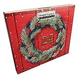 Yankee Candle Adventskalender mit 24 Duft-Teelichtern (5 Verschiedene Home Inspiration Düfte)