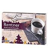 ROTH 80279 Adventskalender Rentner, 24 Frühstücks-und Genussartikel, ca. 50 x 35 x 4 cm, bunt