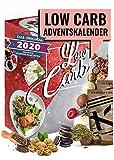 Low Carb Adventskalender 2020 I Kalender Adventszeit für kohlenhydrahtarme Ernährung I Geschenkidee für Fitnessbewusste I verschiedene Snacks ohne Kohlenhydrahte I für Erwachsene