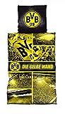 Borussia Dortmund BVB Bettwäsche/Biber - Bettwäsche ** Gelbe Wand