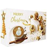 "C&T Kaffee Adventskalender 2020 ""Klassik II"" (Gold, Kaffeepads) | 24 Senseo kompatible Pads aus aller Welt | Weihnachts-Kalender mit kostenloser Infobroschüre"