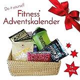 Fitnesskaufhaus Do It Yourself Samples Fitness Adventskalender 2019, 24 TLG Protein Shaker