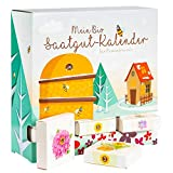 BIO-Saatgut Adventskalender 'Bienen-Freund' - 24 Schachteln mit Blumen und Kräutersamen