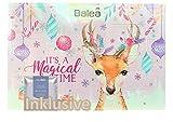 Balea Frauen Adventskalender 2020 - idealer Advent Kalender für die Frau, Beauty Calender Wert 80 €, 24 Pflege Produkten für Damen